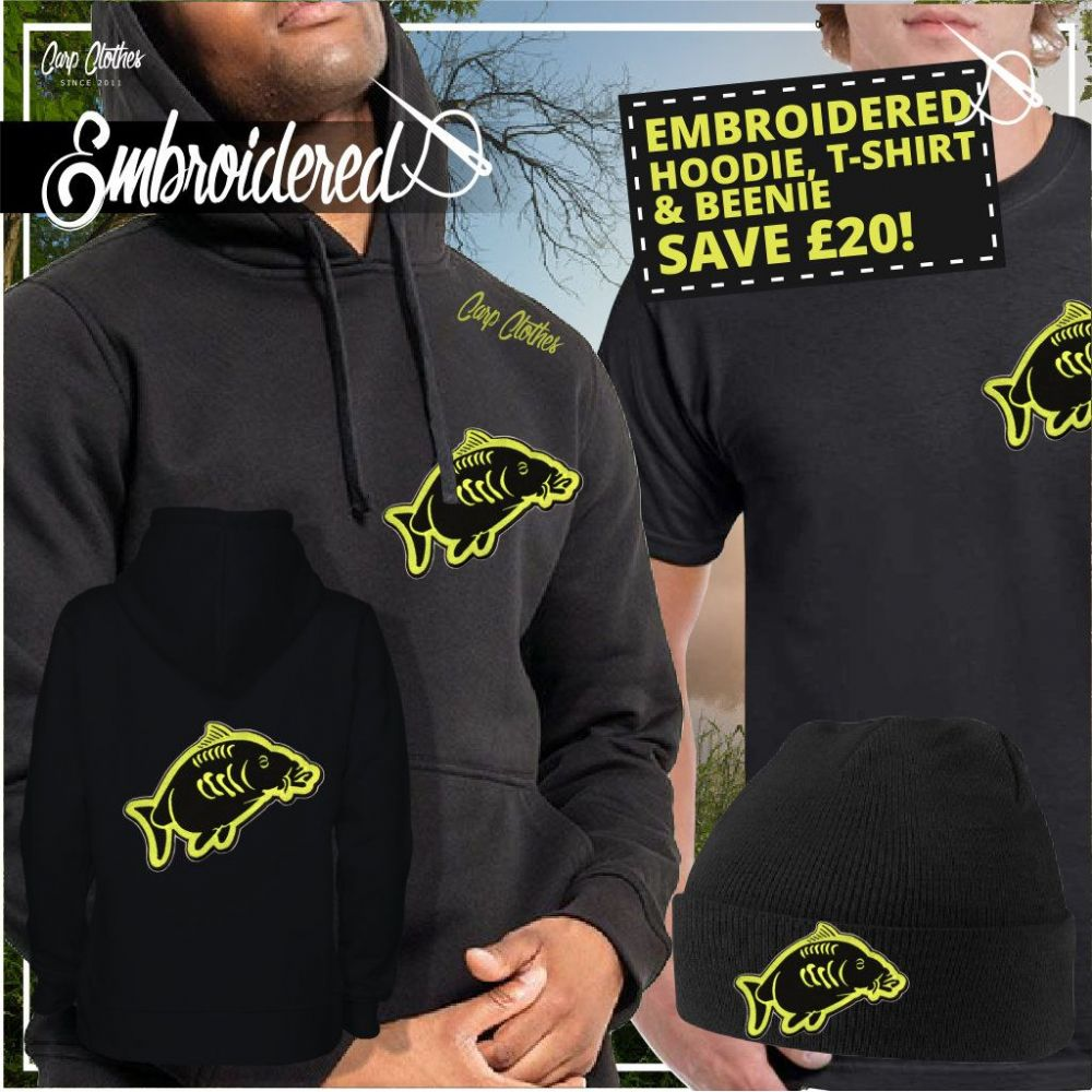 013 EMBROIDERED CARP DEAL
